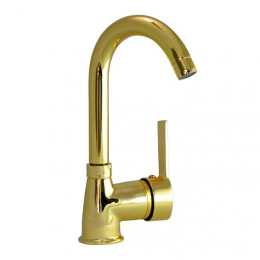 Gold Short Kitchen Faucet