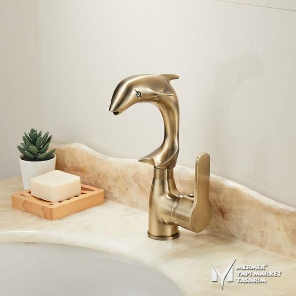 Antique Dolphin Design Faucet