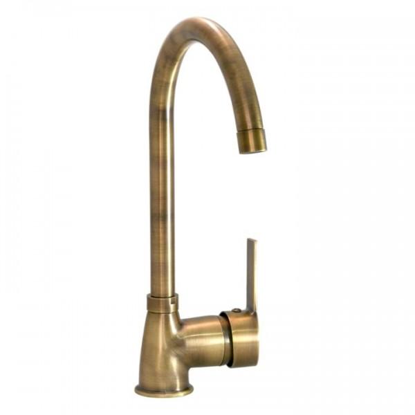 Antique Long Kitchen Faucet