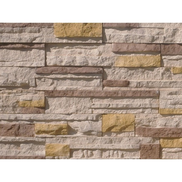 Interlaced Stone Milky Brown Mix