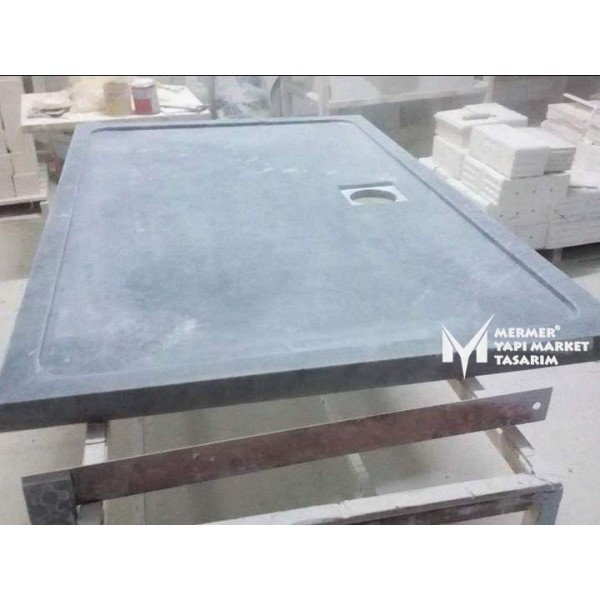 Gray Marble Shower Tray