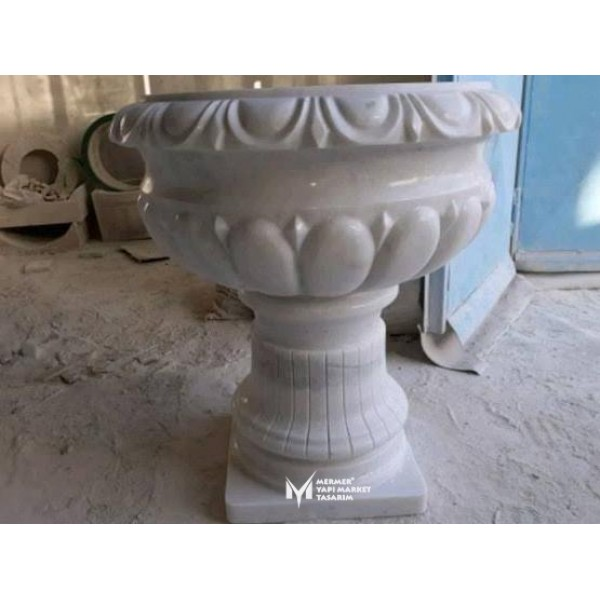 Marmara Marble Special Embroidered Flowe...