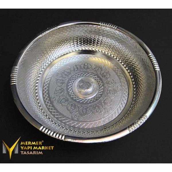Chrome Plated Ottoman Bath Bowl