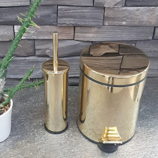 Toilet Brush Holders and Trash Cans