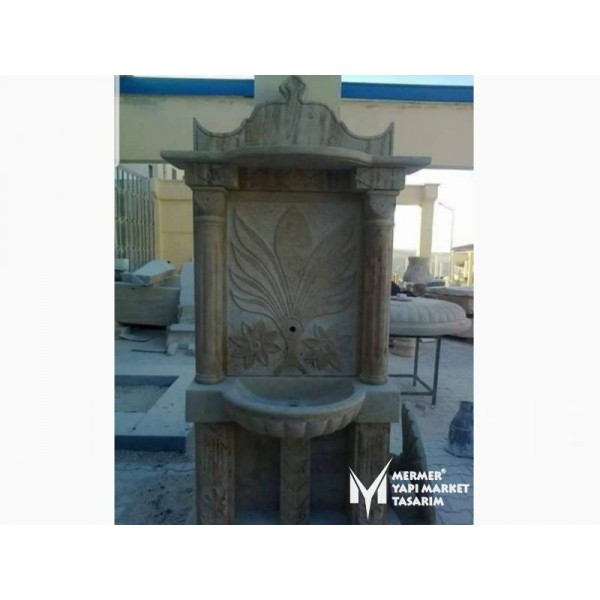 Travertine Special Design Large Size Fou...