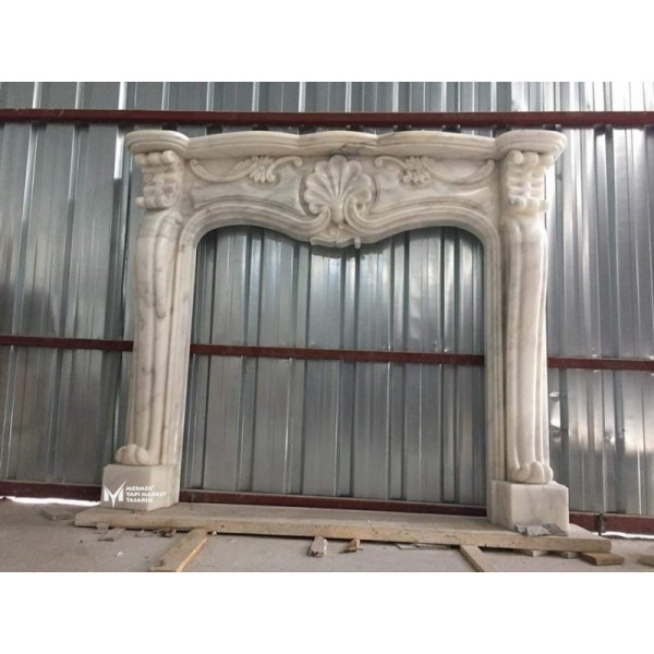 Afyon Marble Special Embroidered Large F...